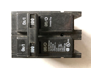 Electricians special 100 amp breakers
