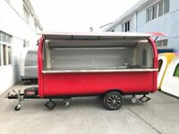 Catering Trailer Pizza Trailer Food Cart Burger Van Ice Cream Cart 3400x1650x2300