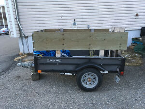 Lifetime utility trailer