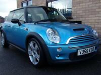 2005 MINI COOPER S 1.6 HATCHBACK PETROL