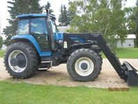 Ford New Holland Tractor/loader and Schulte Snowblower