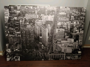Large New York City Canvas