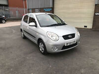 2010 59 KIA PICANTO 1.0 1 MK2 5 DOOR,ONLY 63000 MILES WARRANTED,£30 ROAD TAX