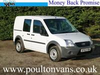2013 (13) FORD CONNECT T220 SWB 5 SEAT CREW VAN / DOUBLE CAB 1.8TDCI,75PS, Small