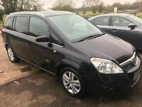 2008 Vauxhall Zafira 1.9CDTi 16v-150ps-auto Design-2 F Keepers-7 Services-2 Keys