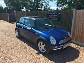 2003/53 Mini 1.6 Chili Cooper NEW Clutch & Gearbox just fitted 12 MTH MOT