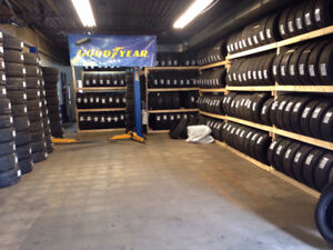 285-45-20 GOODYEAR RUNFLAT USED SET OF 4