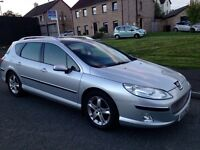 2004 Peugeot 407 Hdi Sw Estate SE Sport Double Glass Roof Full Mot