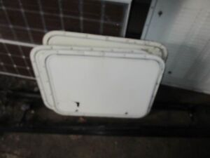 RV Parts windows and Compartment doors (See List)