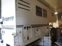 03 SECURITY 8' CAMPER FULL BATH FINANCING AVAILABLE