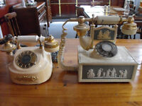 antique french style telephones