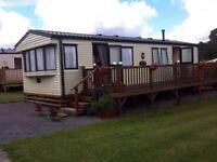 Caravan to let / rent in Begelly - 6 berth / 3 bedrooms - Near Saundersfoot / Tenby
