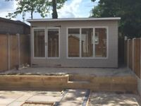 14ft x 10ft summerhouse/ shed/ office/ man cave