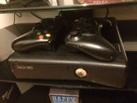 Xbox 360 with Kinect and games + 2pads