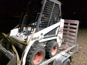 "Bobcat 463 skid steer 44"" wide"