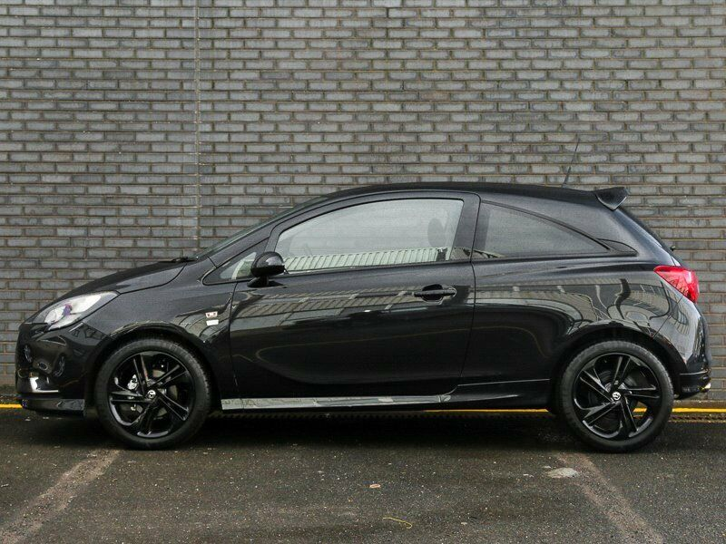 2016 16 reg vauxhall corsa limited edition panther black only 5 000 miles wifi model bargain. Black Bedroom Furniture Sets. Home Design Ideas