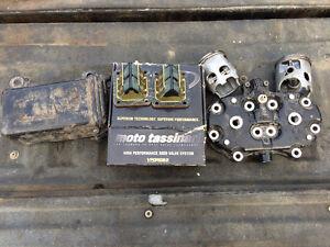 Banshee and Blaster parts