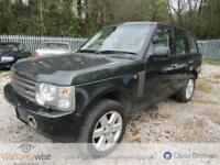 LAND ROVER RANGE ROVER V8 VOGUE, Green, Auto, Petrol, 2004 2 OWNERS FROM NEW