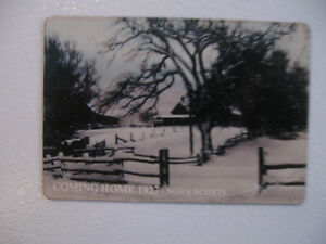 OLD FASHIONED VINTAGE [1929] COMING HOME FRIDGE MAGNET