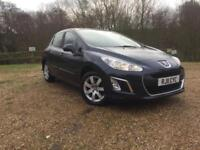 2011 5 DOOR Peugeot 308 1.6e-HDi SAT NAV 1 PREVIOUS OWNER £20 TAX 72 MPG