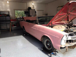 66 Galaxie 500 XL Convertible Project Car