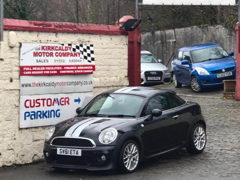 2012 Mini Coupe 16 Cooper 3dr In Kirkcaldy Fife Gumtree