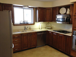 NEW PRICE: Kitchen Cabinets INCLUDING Cooktop & Built-in Oven