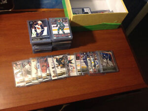 Selling collection of hockey cards By teams CHEAP! Good cards!