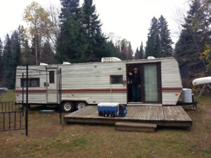 Extra living space at cottage or camp
