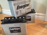 3 like new scooter batteries