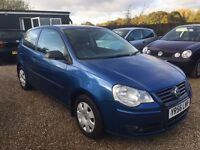 VW POLO 1.2 S 2006 3DR * IDEAL FIRST CAR * LOW MILEAGE * CHEAP INSURANCE * HPI CLEAR