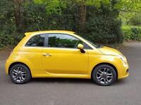 Fiat 500 1.2I S S/S BLUETOOTH / 30 POUNDS A YEAR TO TAX / 3% FLAT RATE FINANCE.