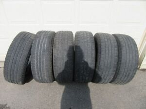 6 225/65R18 tires
