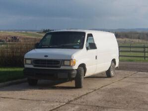 2001 Ford E150 Cargo Work Van $2100 obo