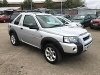 Land Rover Freelander 2.0Td4 XEi 2005/55 With Only 122K FSH & April 17 Mot