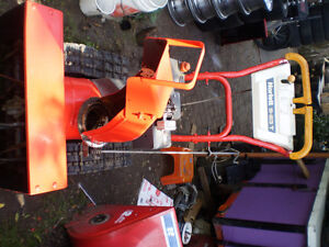 "Norlett   5/23""  Track-Drive  Dual Stage  snowblower  for sale"