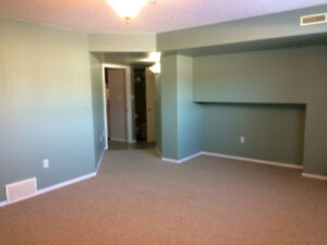 Spacious & bright unfurnished basement suite available Sept. 1