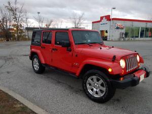2018 Jeep Wrangler JK Unlimited Sahara 4x4 lease takover