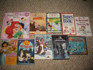 lot of Disney Books, Joke Books, Schoolastic
