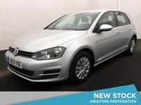 2013 VOLKSWAGEN GOLF 1.6 TDI 105 S Bluetooth Zero Tax Aux Mp3 Input
