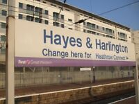 2 BED FLAT TO RENT - HARLINGTON - HAYES - NEAR HEATHROW - A4/M4/M25 - UB3 5DP - £ 1250 PCM