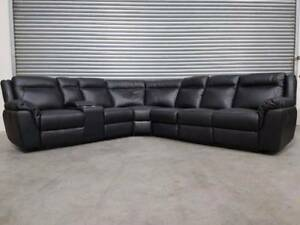 LARGE LEATHER MODULAR SOFA - PRICED TO CLEAR! Richmond Yarra Area Preview