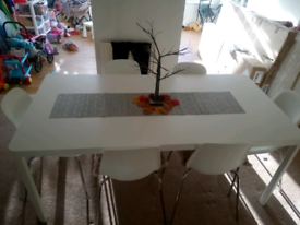 Dining table and 6 chairs**Bargain**