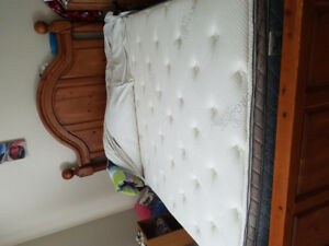 Queen size matters and box spring