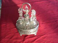 Victorian 6 Bottle Cruet Set