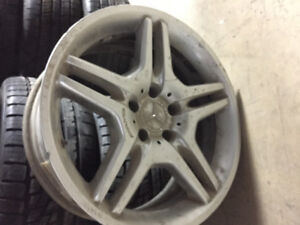 "18"" MERCEDES BENZ AMG E55 WHEEL - FRONT RIM ONLY NO TIRE"