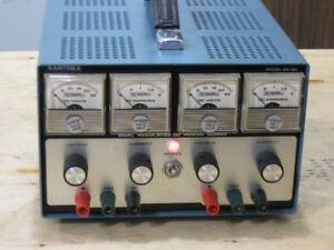 Dual Adjustable DC Power Supply