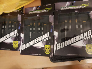 new in boxes and never open  _Boom Racing shocks