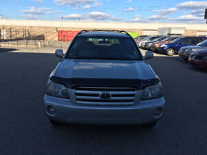 2004 Toyota Highlander.CERTIFIED, ETESTED, WARRANTY. NO ACCIDENT
