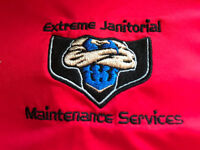 Janitorial person